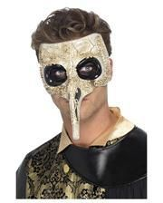 Venetian plague doctor beak mask