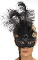 Venetian rod eye mask