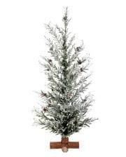 Icy Christmas tree with cones 70 cm