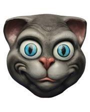 Grinsende Katzen Maske
