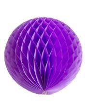 Honeycomb ball purple 30cm