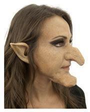 Spitze Hexen Ohren aus Latex