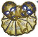 Wall Decor Twin Clowns Gold 5 PCS
