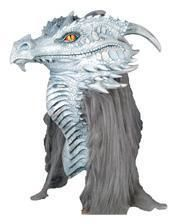 Ancient Dragon Mask White