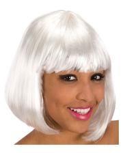 Pageboy wig white Economy
