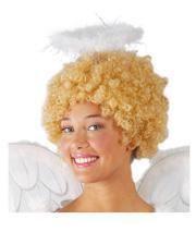 White angel halo