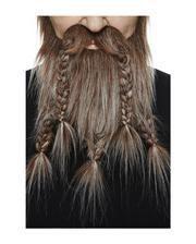 Viking Combi beard brown ash