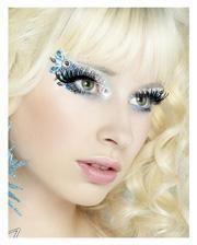 Xotic Eyes Bollywood silber