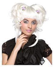 Yuki Damenperücke weiß