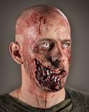 Zombie Kieferknochen Wunde
