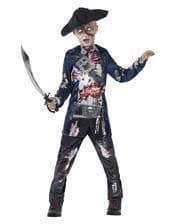 Captain Zombie Kinderkostüm