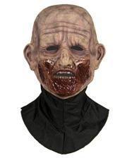 Silicone Half Mask Zombie Biter