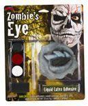 Zombie Skull Eye Make Up