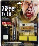 Zombie Reißverschluss Wunde