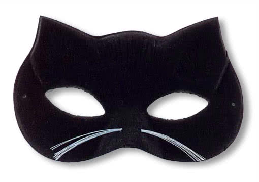 Сделать своими руками маску кота фото