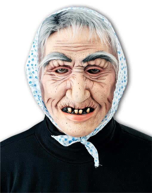 alte oma maske berta hexen masken in gro er auswahl. Black Bedroom Furniture Sets. Home Design Ideas