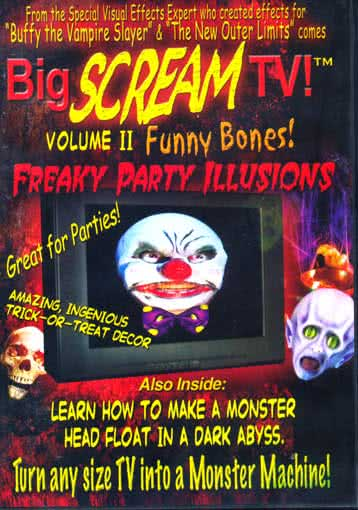 Horror clown effect dvd