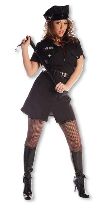 sexy polizistin kost m gr s sexy polizei uniform karneval universe. Black Bedroom Furniture Sets. Home Design Ideas
