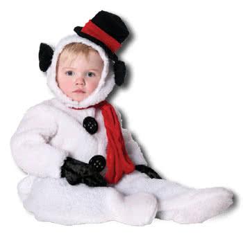 flauschiger schneemann kinderkost m gr l weihnachtskost m f r kinder karneval universe. Black Bedroom Furniture Sets. Home Design Ideas