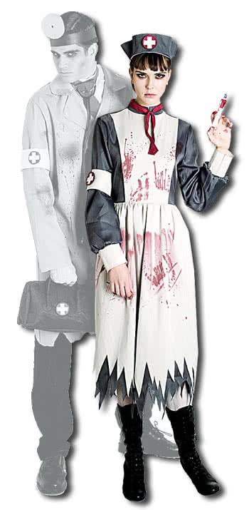 lazarett krankenschwester kost m gr s historisches krankenschwester outfit karneval universe. Black Bedroom Furniture Sets. Home Design Ideas