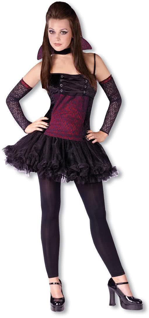 vampirina teeny kost m halloweenkost me f r teenager. Black Bedroom Furniture Sets. Home Design Ideas