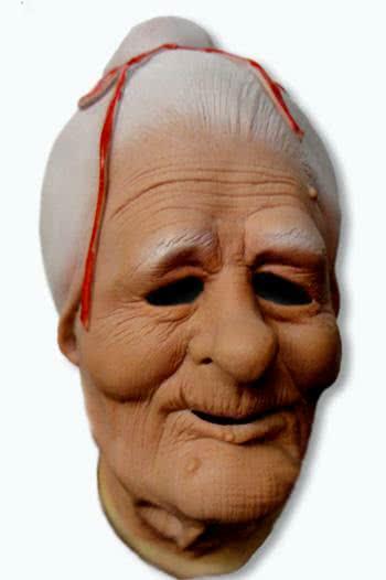 gro mutter maske oma maske alte frauen maske karneval universe. Black Bedroom Furniture Sets. Home Design Ideas