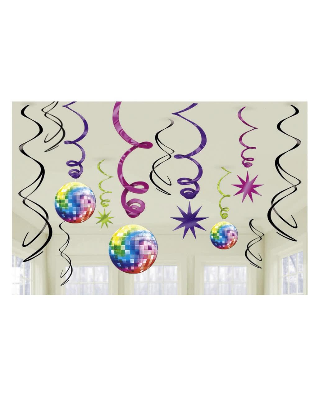spiralen deko 70er jahre disco bestellen karneval universe. Black Bedroom Furniture Sets. Home Design Ideas