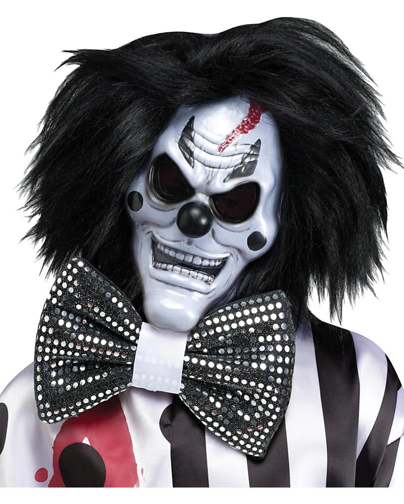 horror clown maske mit bluteffekt horror masken mit kunstblut karneval universe. Black Bedroom Furniture Sets. Home Design Ideas