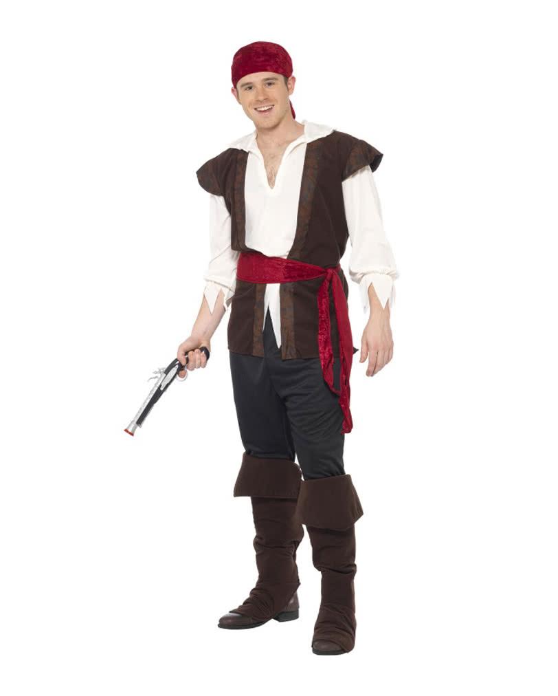 Костюм пирата своими руками для мужчины