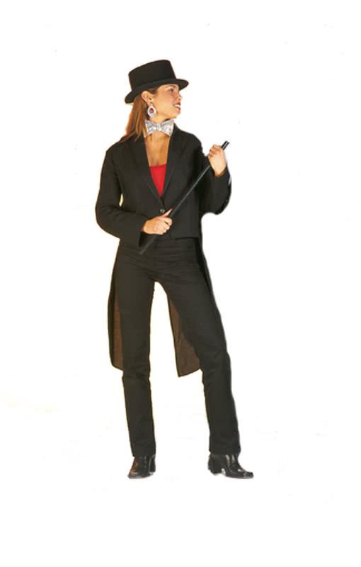 schwarzer damen frack elegante jacket f r frauen. Black Bedroom Furniture Sets. Home Design Ideas
