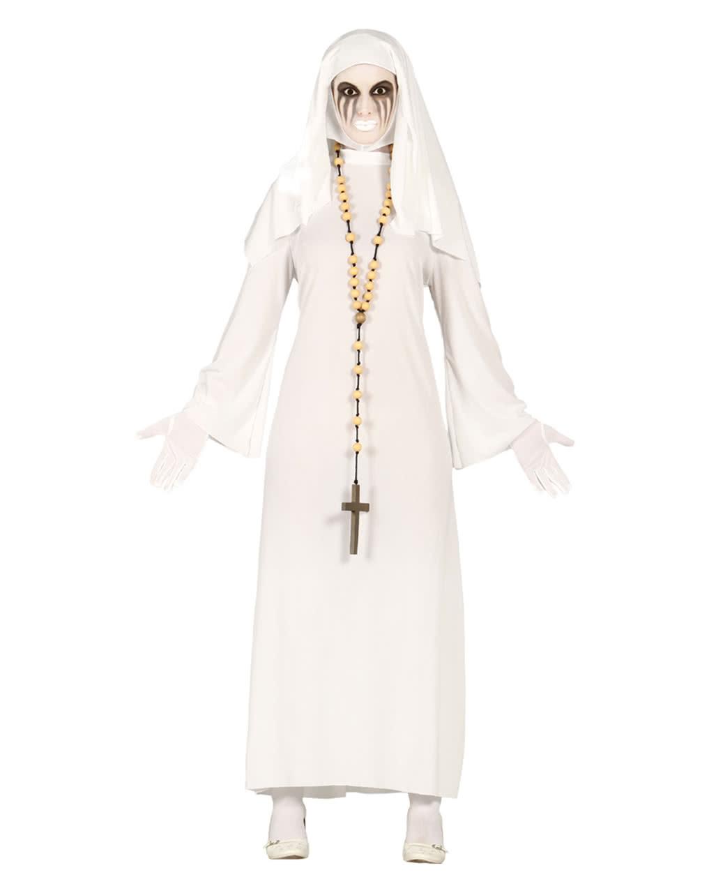 klosterschwester geist kost m nonnen halloween verkleidung karneval universe. Black Bedroom Furniture Sets. Home Design Ideas