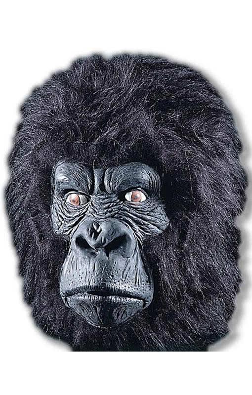 Маска своими руками горилла