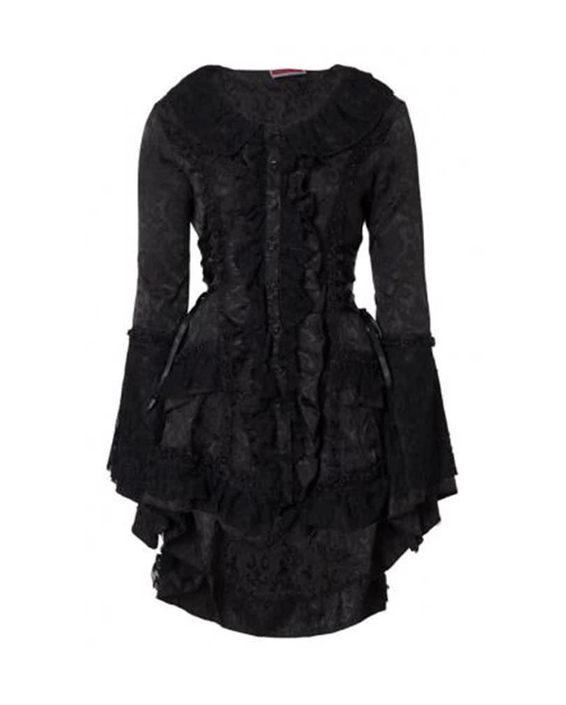 viktorianischer gothic mantel gothic mantel viktorianischer mantel karneval universe. Black Bedroom Furniture Sets. Home Design Ideas