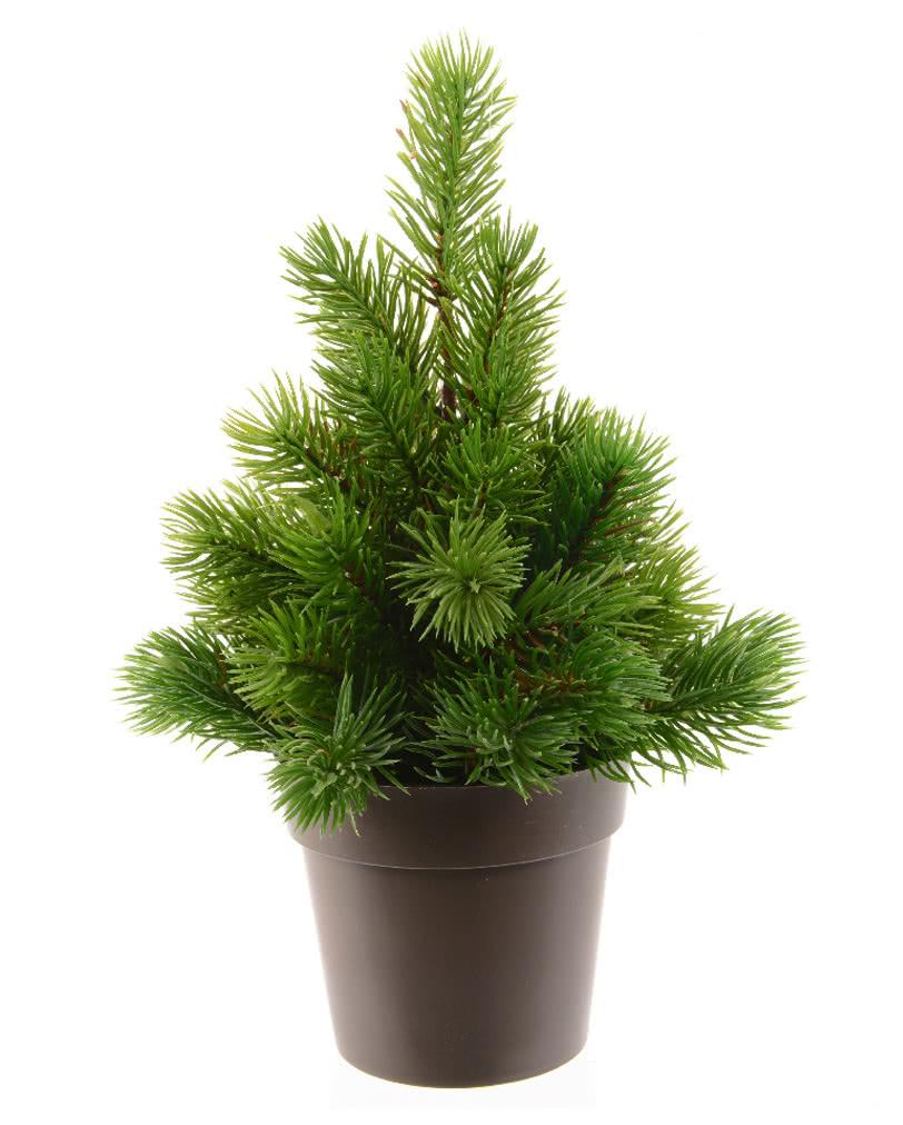 tannenbaum mit topf 25 cm kunstb umchen f r weihnachten karneval universe. Black Bedroom Furniture Sets. Home Design Ideas