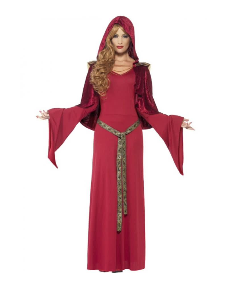 hohepriesterin kost m mit kapuze priesterin verkleidung mit cape karneval universe. Black Bedroom Furniture Sets. Home Design Ideas