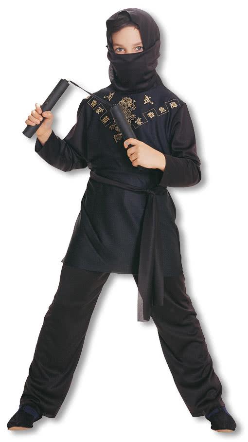 Новогодний костюм ниндзя для мальчика своими руками фото