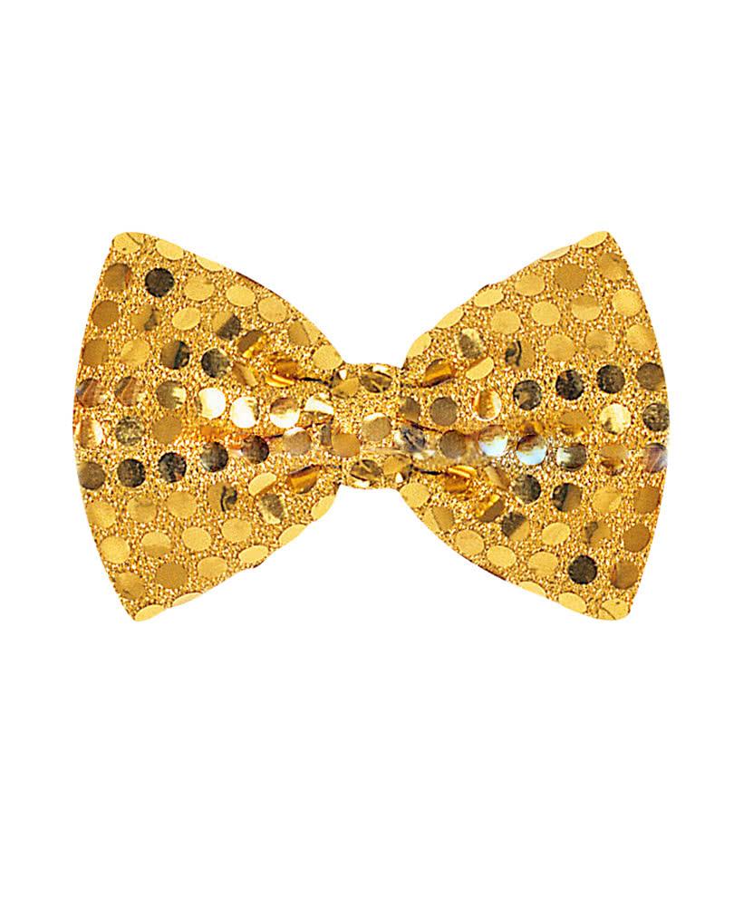 goldene pailletten schleife pailletten fliege karneval. Black Bedroom Furniture Sets. Home Design Ideas
