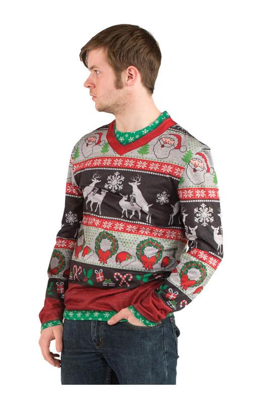 peinlicher weihnachtspulli langarm shirt langarm shirt. Black Bedroom Furniture Sets. Home Design Ideas
