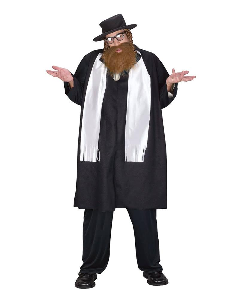 rabbiner kost m mit bart plus size lustige. Black Bedroom Furniture Sets. Home Design Ideas