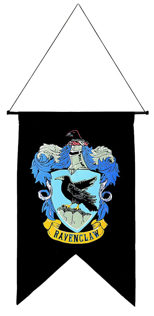 ravenclaw flagge harry potter merchandise karneval universe. Black Bedroom Furniture Sets. Home Design Ideas
