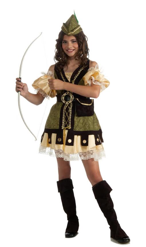 Robin Hood Girl |Mit Dem Der Gaunerin Kostu00fcm Wirst Du ZurKu00f6nigin Der Diebe | Karneval Universe