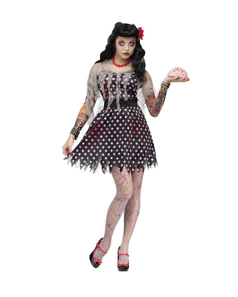rockabella zombie kost m zombie rock 39 n 39 roll frauenkost m. Black Bedroom Furniture Sets. Home Design Ideas