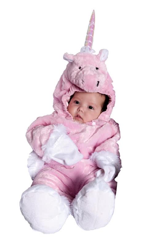 rosa einhorn baby overall pinkes fabelwesen als. Black Bedroom Furniture Sets. Home Design Ideas