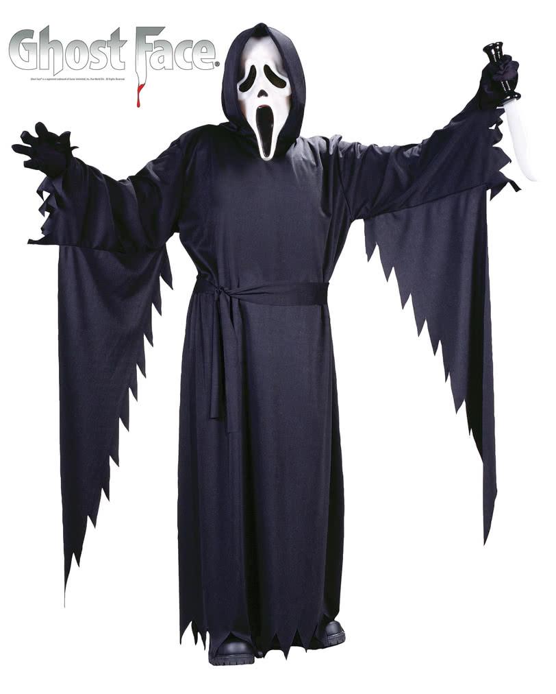 scream kost m mit maske f r jugendliche scream kost m f r teenager karneval universe. Black Bedroom Furniture Sets. Home Design Ideas