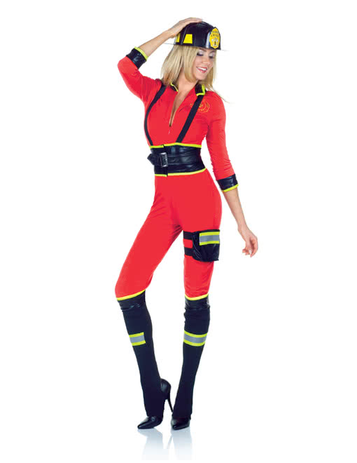 sexy feuerwehrfrau kost m sexy feuerwehr damen uniform karneval universe. Black Bedroom Furniture Sets. Home Design Ideas