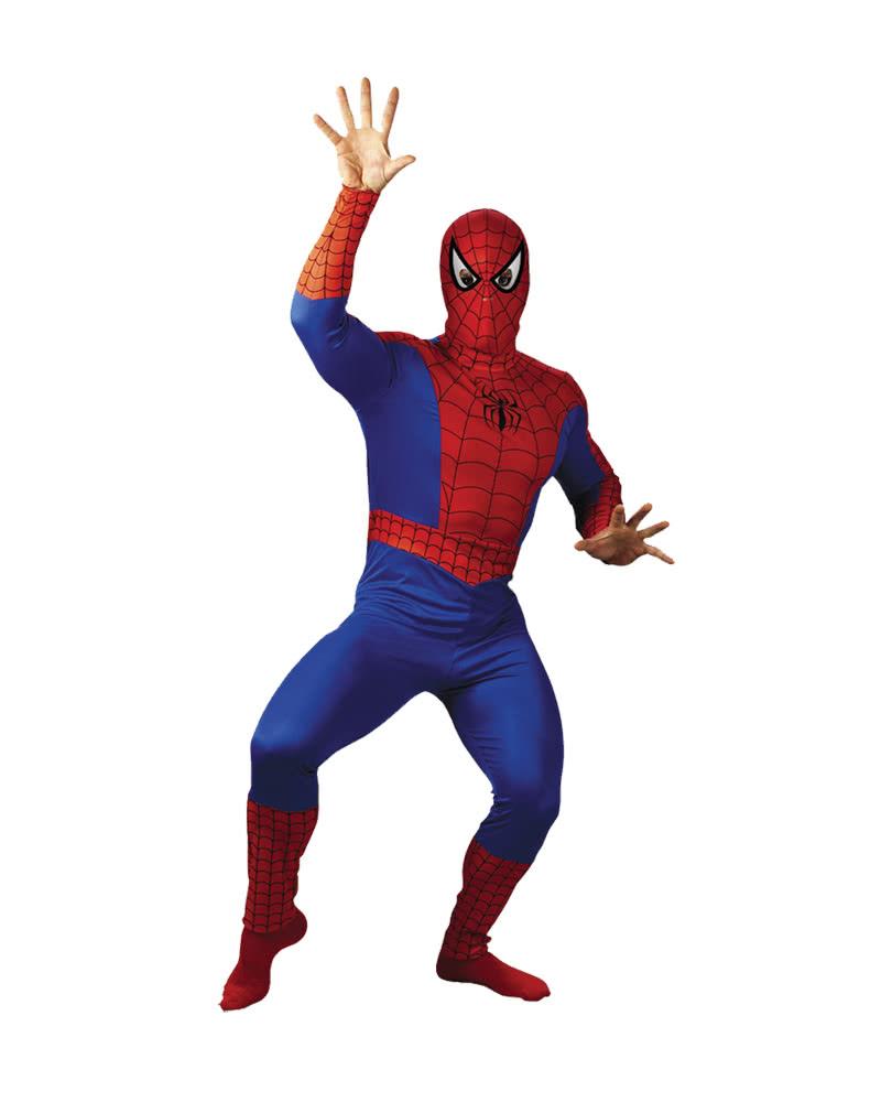 spiderman kost m spiderman superhelden kost m karneval. Black Bedroom Furniture Sets. Home Design Ideas