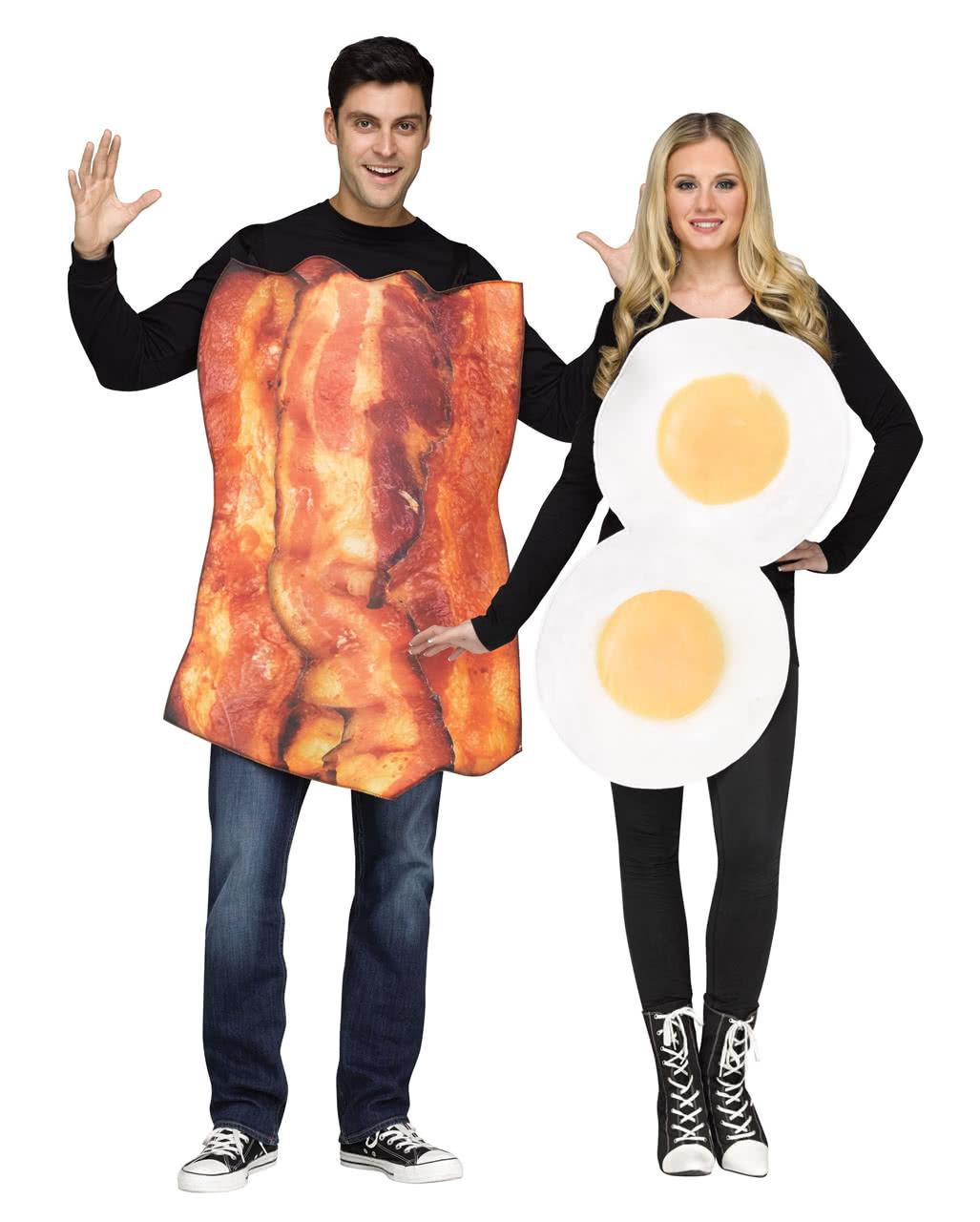 bacon eggs partnerkost m f r fasching karneval universe. Black Bedroom Furniture Sets. Home Design Ideas