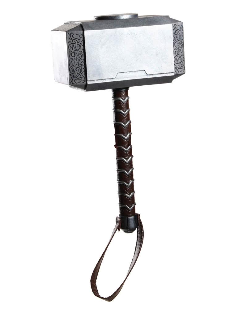 thor hammer deluxe von marvel thor hammer als kost mzubeh r karneval universe. Black Bedroom Furniture Sets. Home Design Ideas