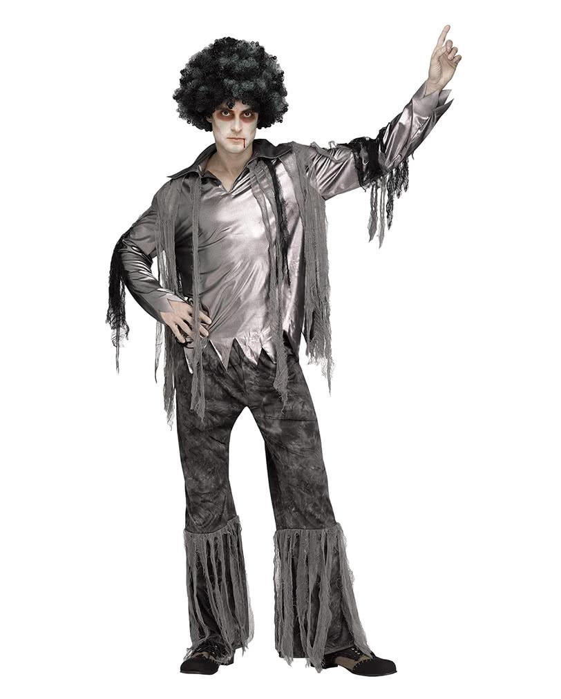 herrenkost m zombie disco dancer f r halloween verkleidungen karneval universe. Black Bedroom Furniture Sets. Home Design Ideas