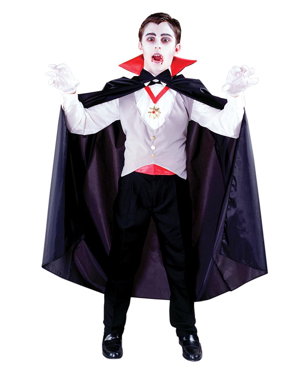 Vampire Child Costume 6 pcs. Vampire costume for children -